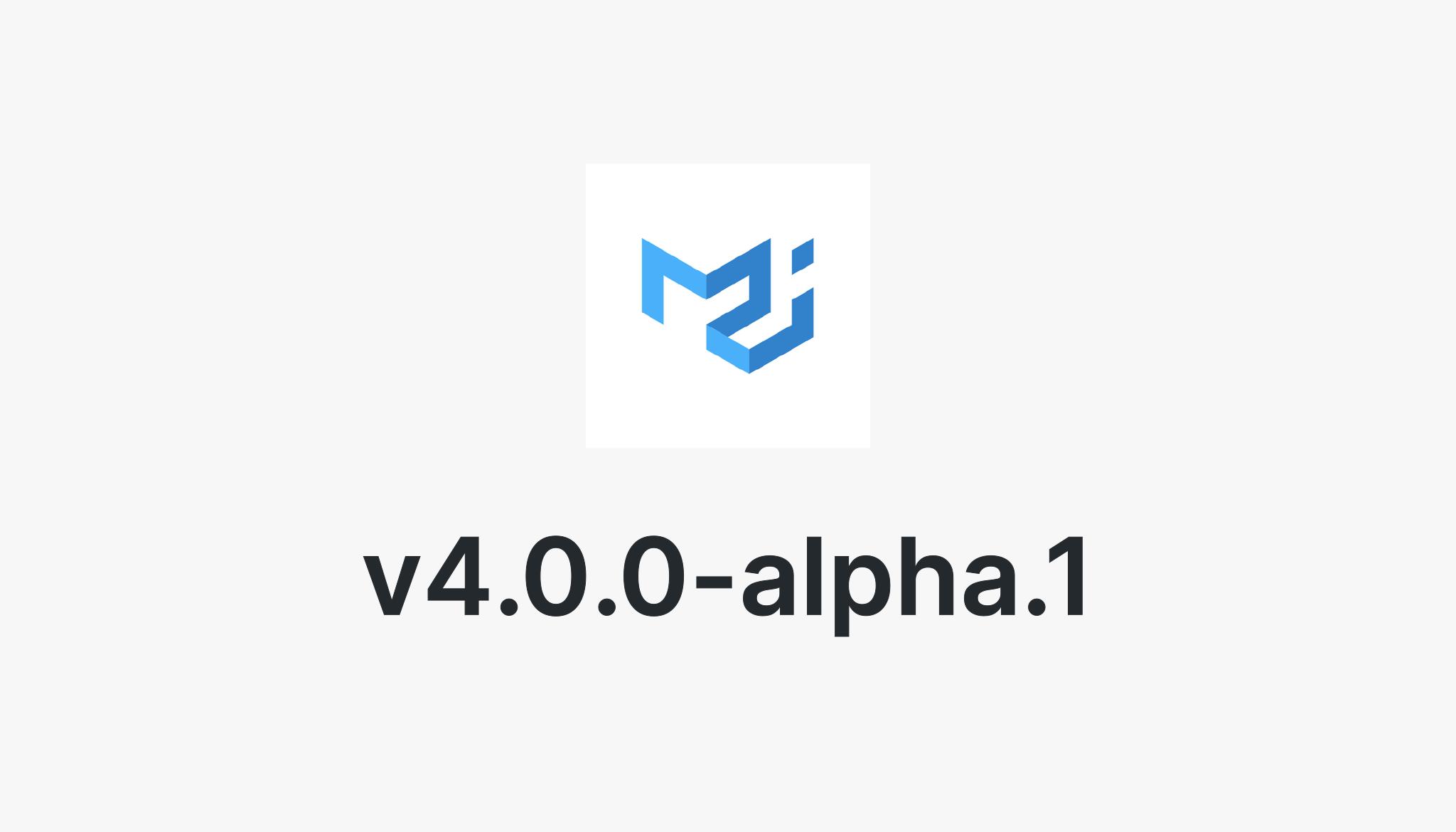 material-ui v4 0 0-alpha 1